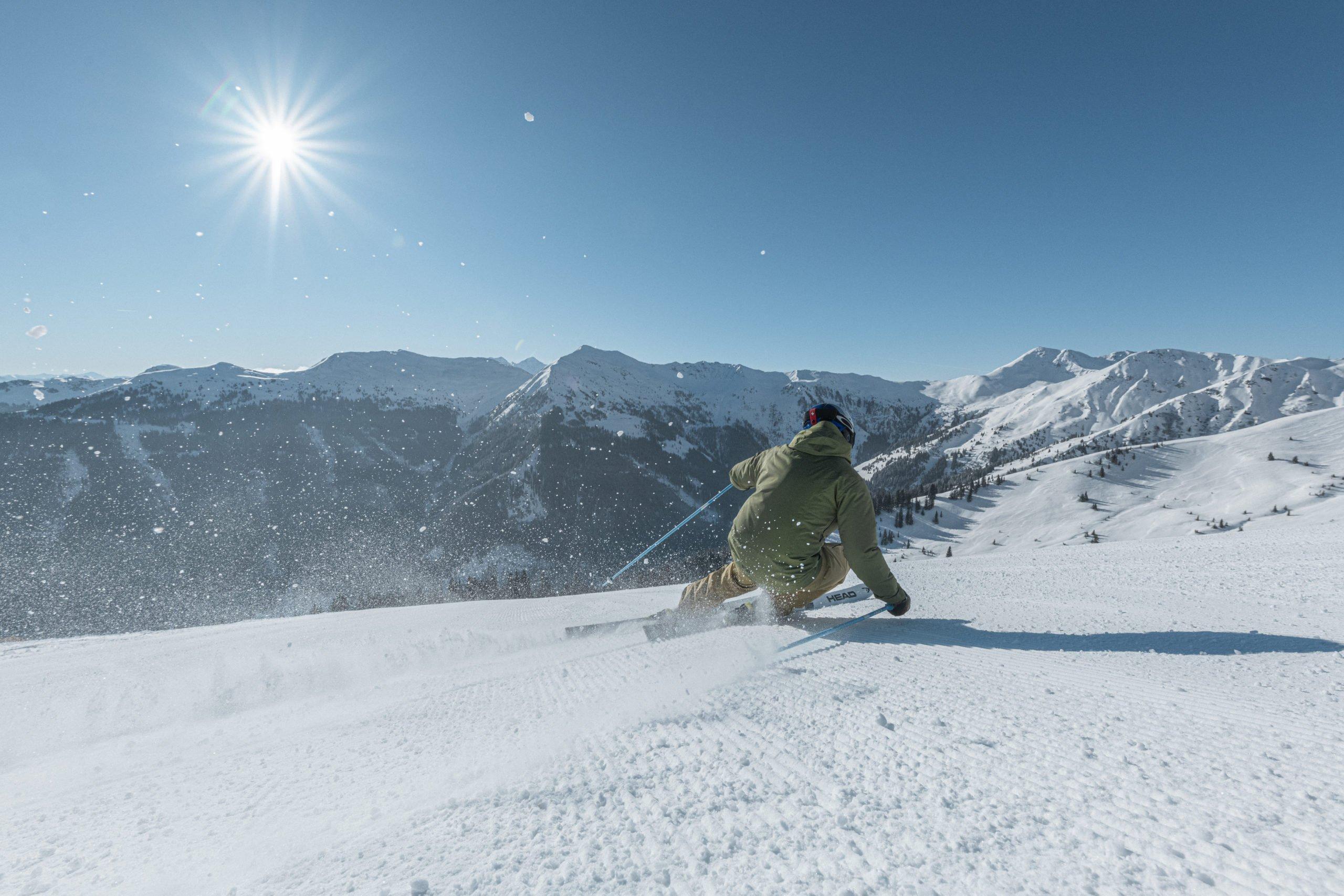 Alpine skiing Saalbach 2021